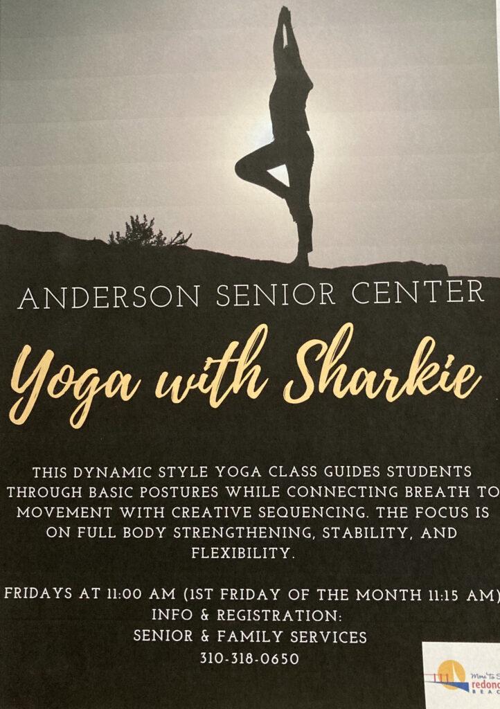 Yoga with Sharkie